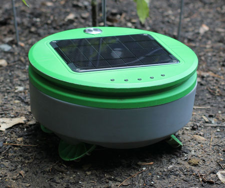 Solar Powered Weeding Robot
