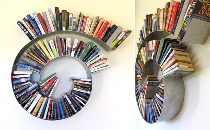 Spiral Bookcase - Cool bookshelves