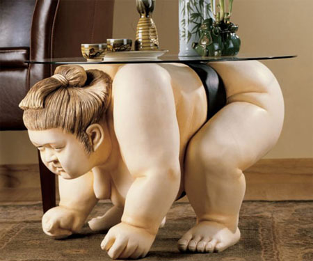 Sumo Wrestler Table