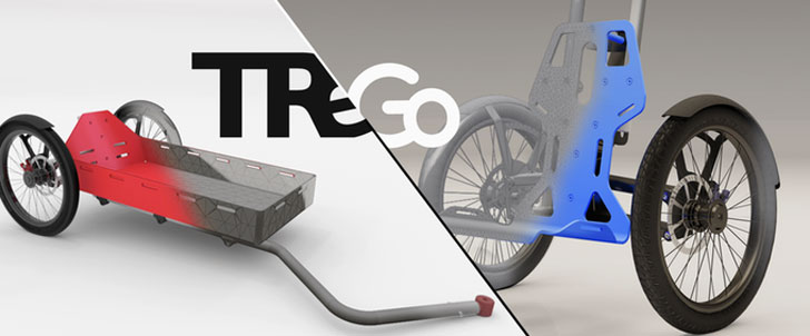 TReGo Trolley Bicycle Attachment