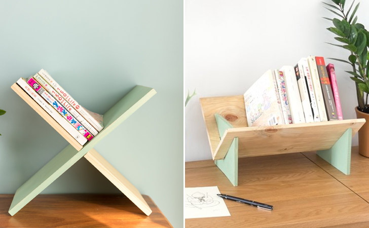 Tabletop Minimalist Bookshelves