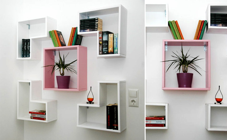 Tetris Decor Shelving Units