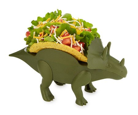 Triceratops Taco Holder