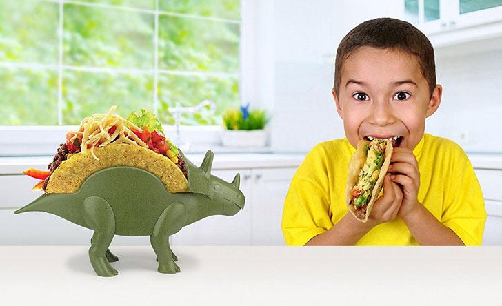 Triceratops Taco Holder