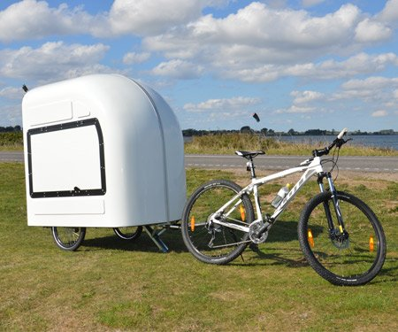Wide Path Camper: Bicycle Camper