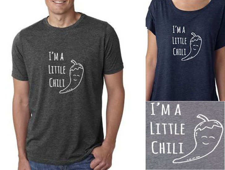 I'm A Little Chili Men's T-shirt