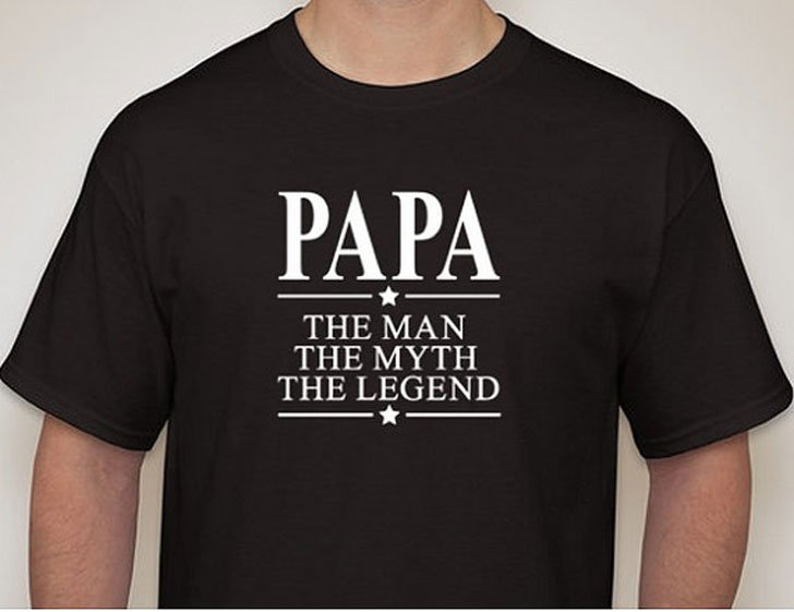 #51 Papa The man The Myth Legend T-Shirt