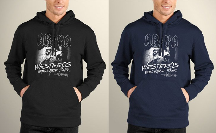 AC/DC Inspired Game Of Thrones Hoodies