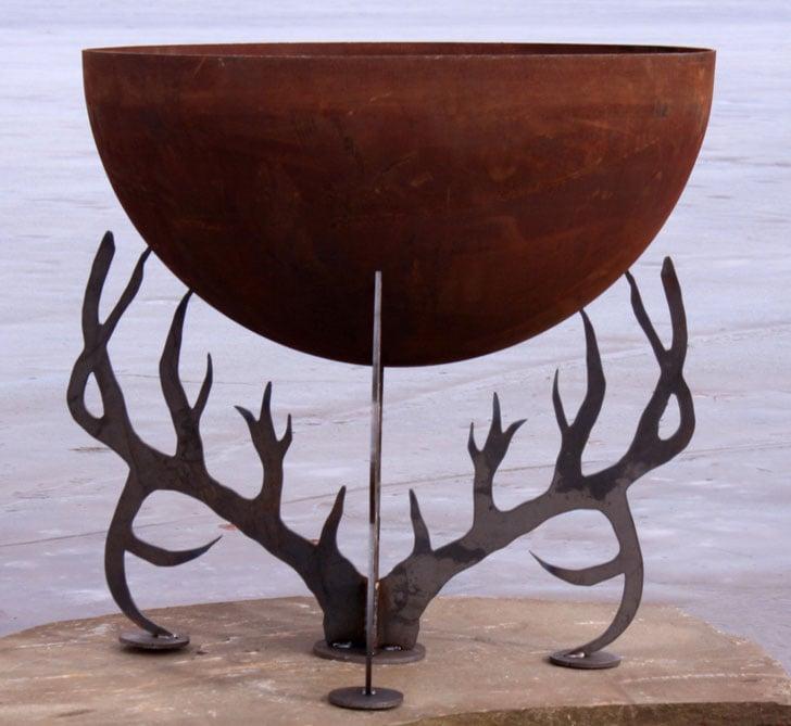 Antler Fire Bowl