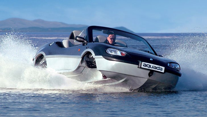 Aquada High-Speed Amphibian Vehicle