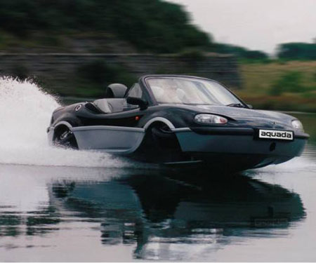 Aquada High-Speed Amphibian Vehicle