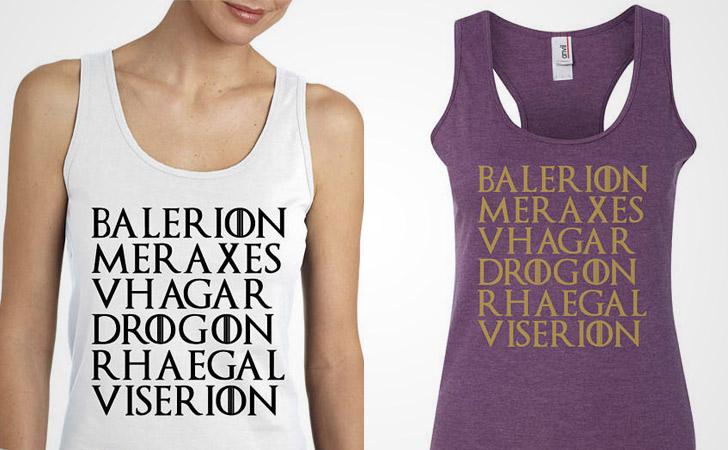 Balerion Meraxes Targaryen Dragons