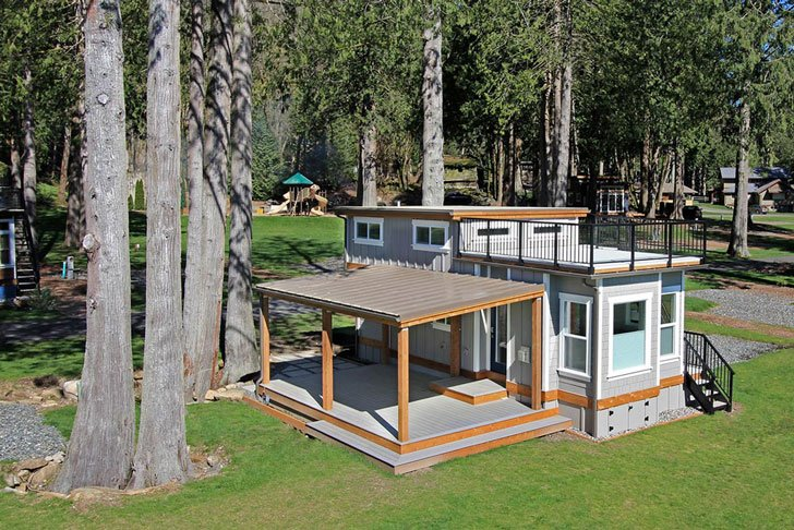 Bellevue West Coast Shipping Container Homes