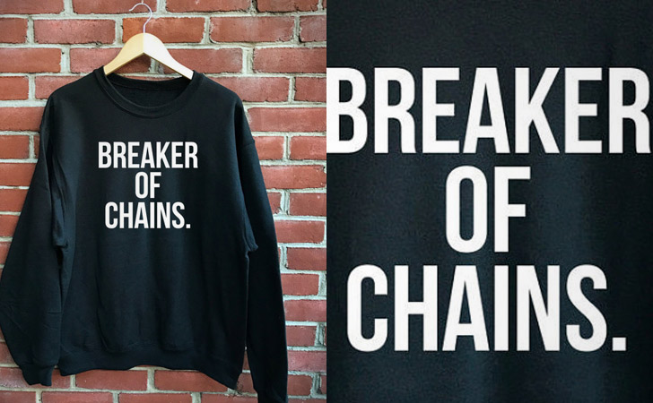 Breaker of Chains Hoodie