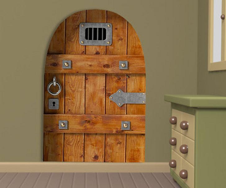 Castle Door Wall Decal