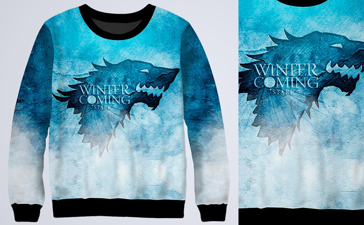 Colorful Winter Is Coming Sweatshirt