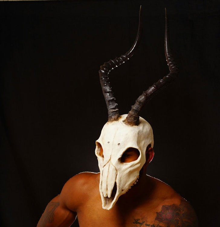 Creepy Handmade Skull Masks