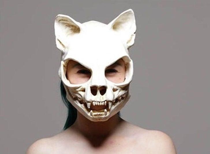 Creepy Handmade Skull Masks
