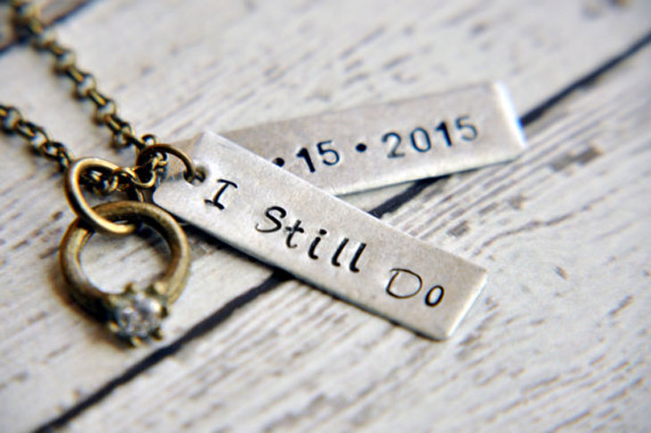 Custom Anniversary Necklaces