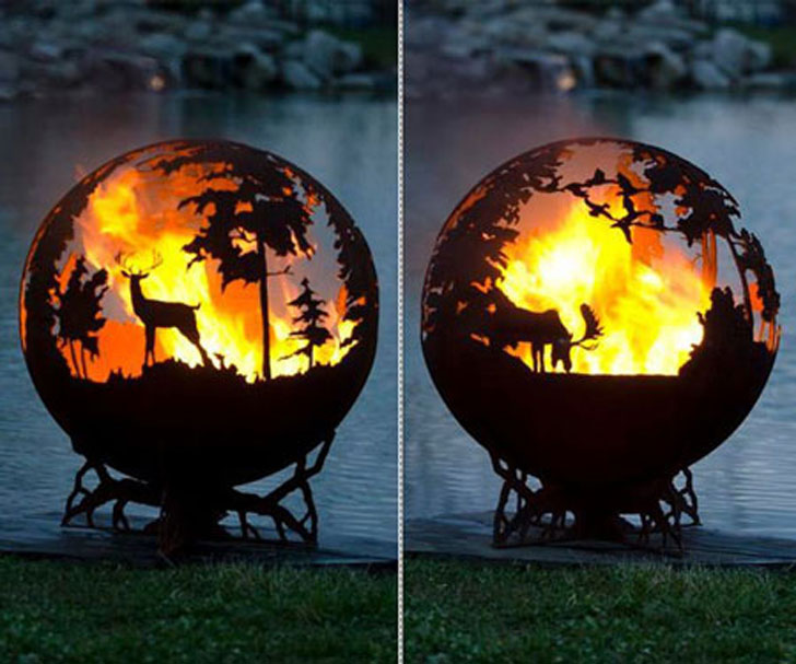 Custom-Made Fire Pits