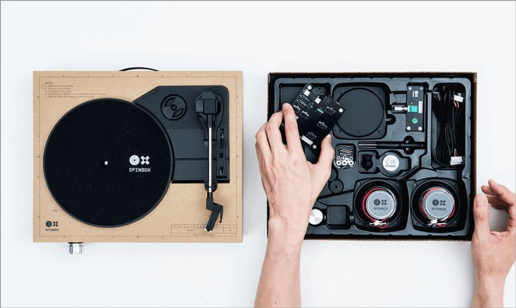DIY Portable Turntable Kit