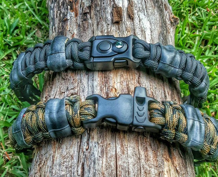 EDC Prepper Paracord Bracelet