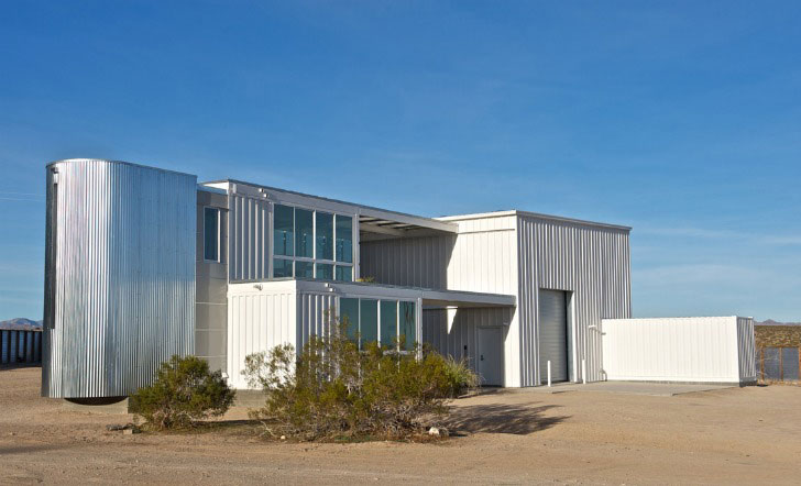 EcoTech Mojave Desert Container Home
