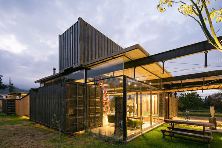 Ecuador Shipping Container Home