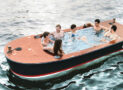 Electric Hot Tub Boat