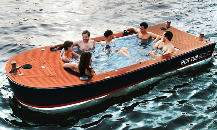 Electric Hot Tub Boat Enter At Your Own Risk Awesome