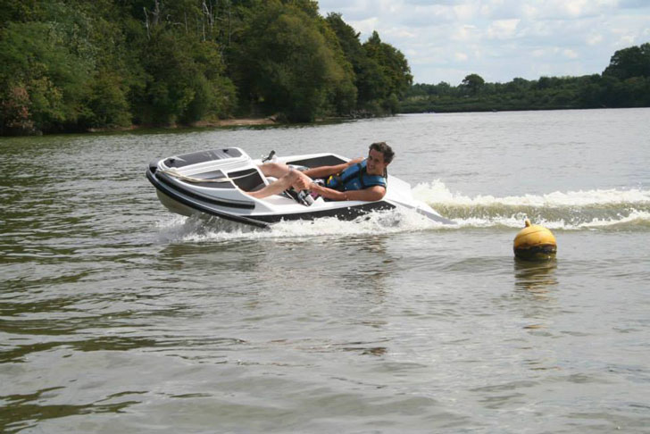 Electric Water Go Cart