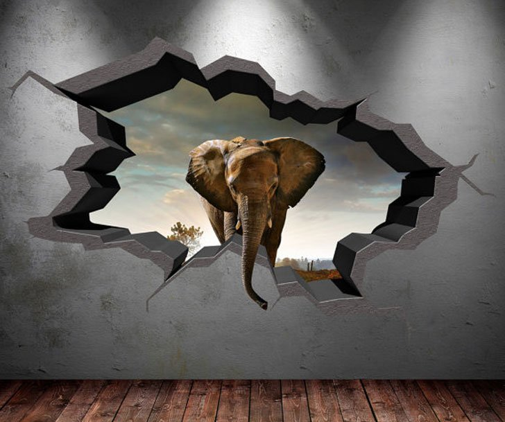 40 Coolest 3D Wall Decals & Stickers For Bedrooms - Awesome Stuff 365