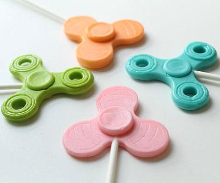 Fidget Spinner Lollipops