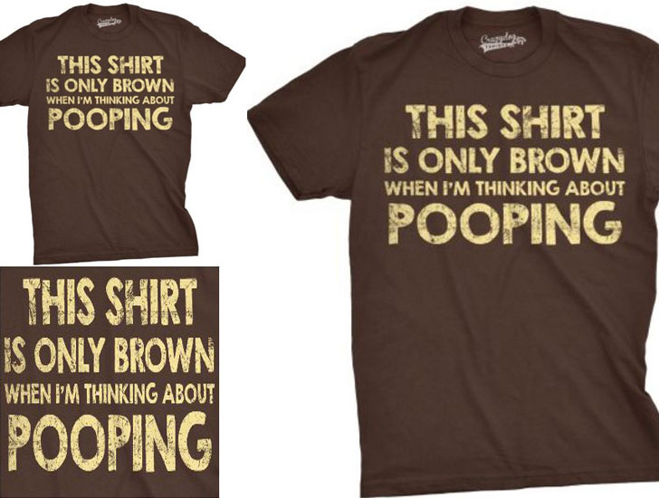 This Shirt Is Brown T-Shirt