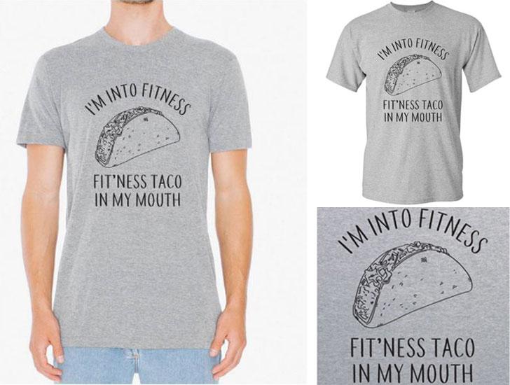 Fitness Taco T-shirt