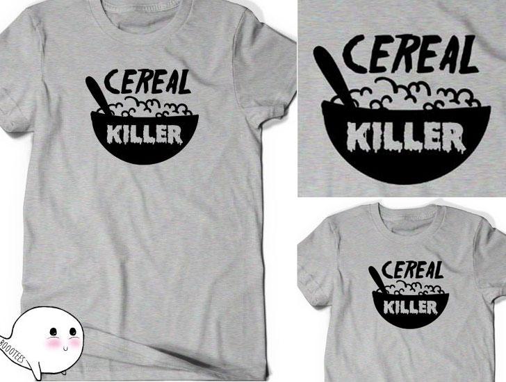 Funny Cereal Killer T shirt T-Shirt