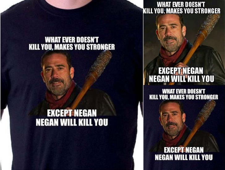 Negan Walking Dead Shirt