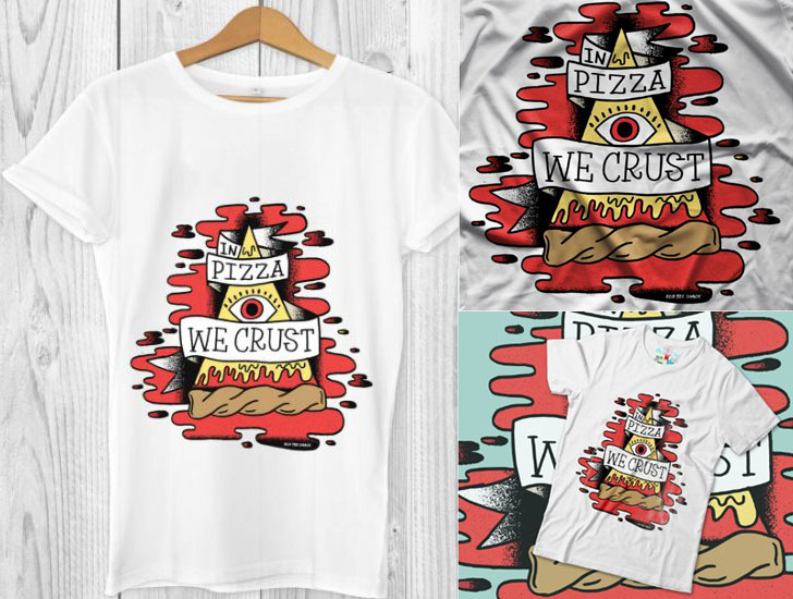 In Pizza we Crust T-Shirt