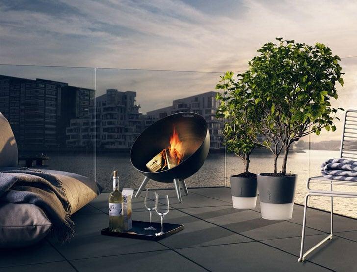 Fire Globe Fire Pit