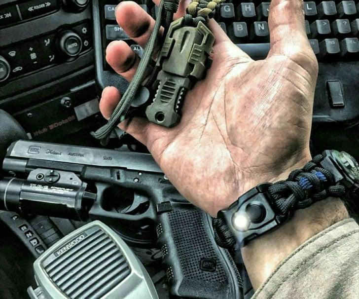 First Responder paracord Bracelet