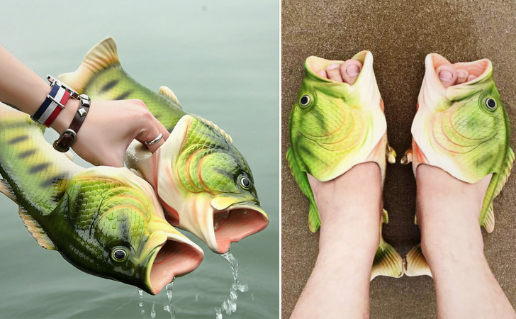 Fish Shoes - weird shoes