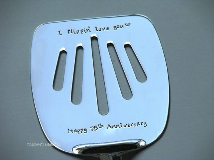 "Funny ""I Steel Flipping Love You"" Personalised Spatulas"