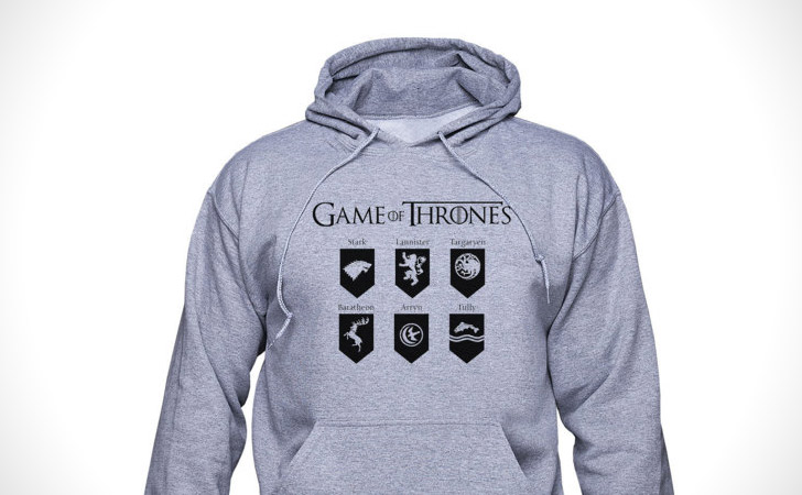 Game Of Thrones Noble Houses Sigils Unisex Hoodies