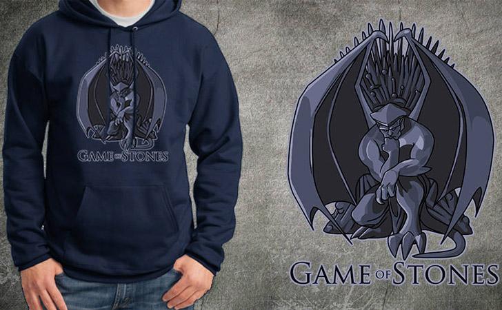 Game of Stones Gargoyles Hoodie