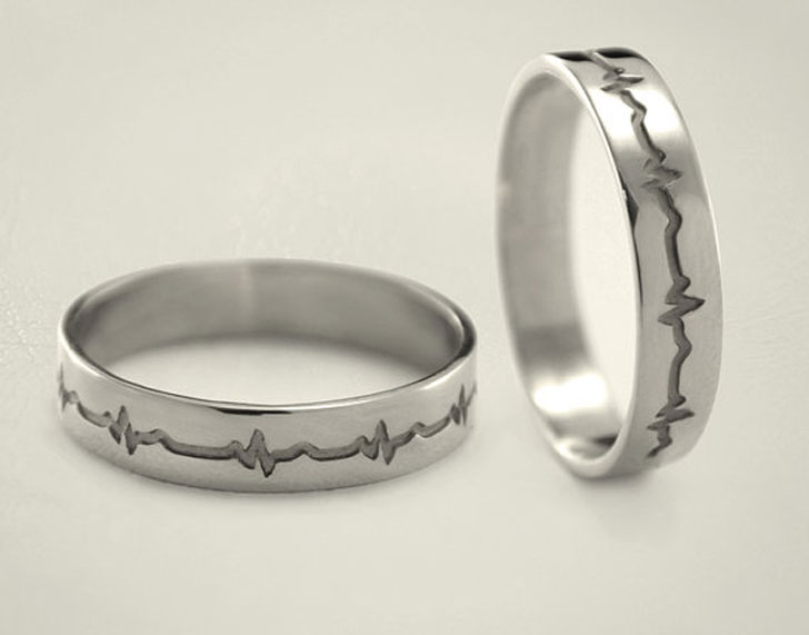 Heartbeat Promise Rings