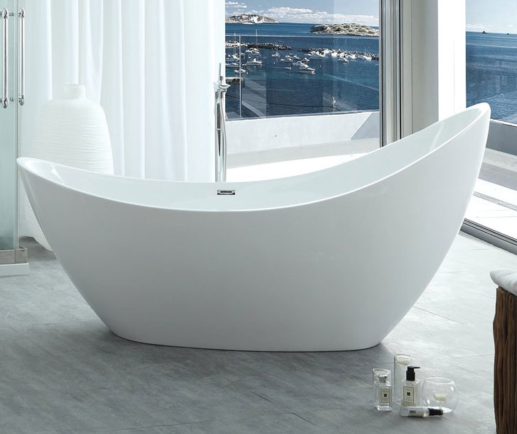 HelixBath Odysseues Freestanding Bathtub