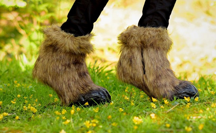 Hooved Goat Boots - weird shoes