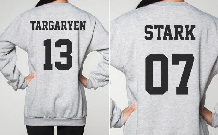 House Name Jersey Hoodies