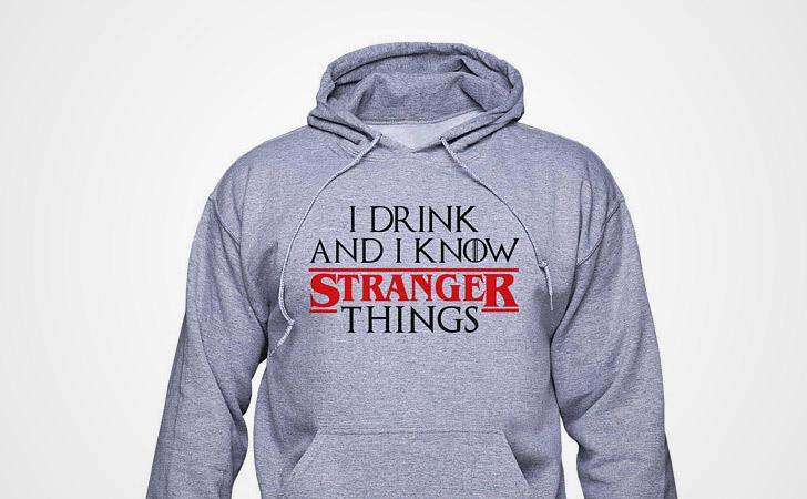 I Know Stranger Things Hoodie - Game of Thrones hoodies