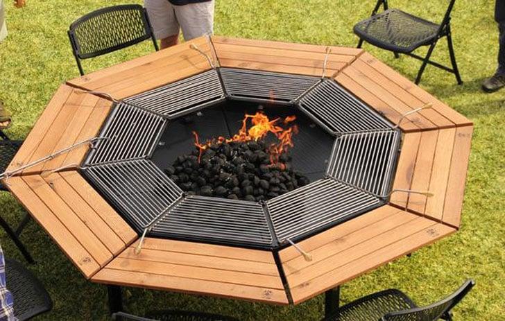 Jag Grill Fire Pit Tables - Jag Grill Fire Pit Tables - Awesome Stuff 365